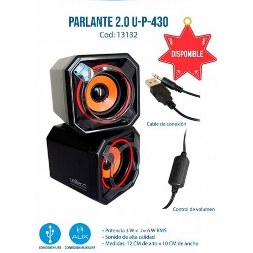 PARLANTE 2.0 U-P-430